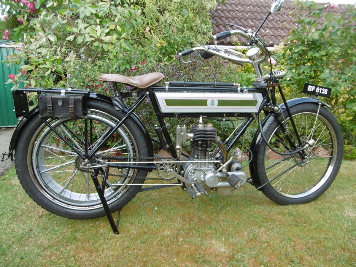 1912 Veteran Triumph with clutch For Sale (picture 1 of 4)