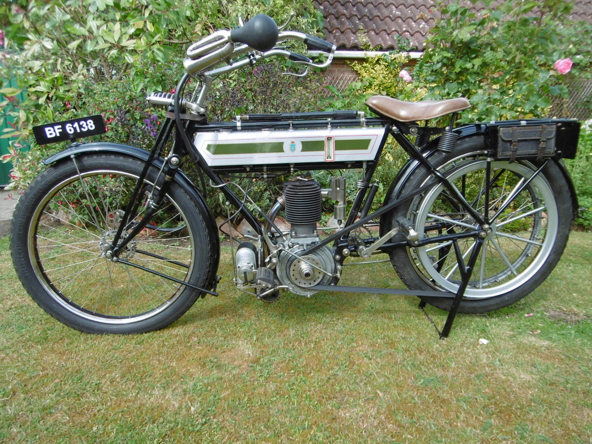 1912 Veteran Triumph with clutch For Sale (picture 2 of 4)