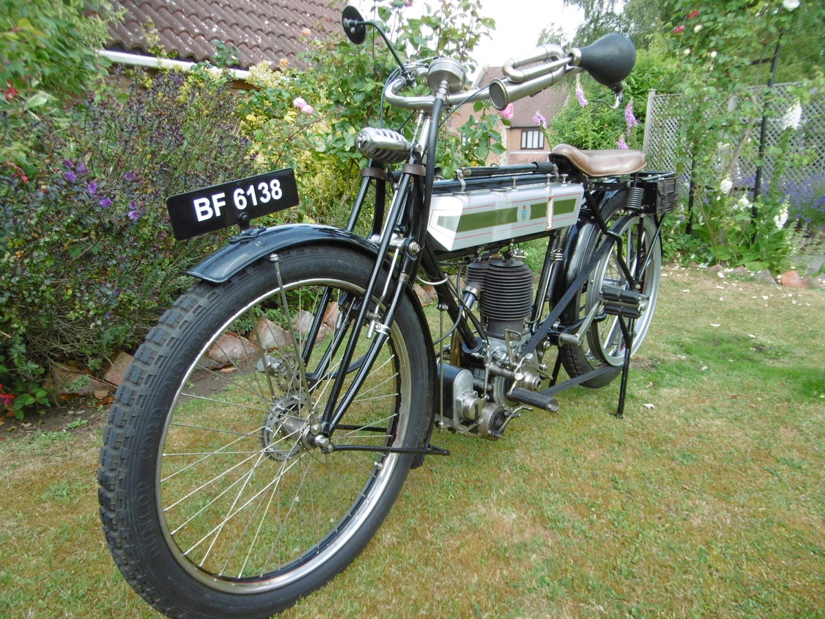 1912 Veteran Triumph with clutch For Sale (picture 3 of 4)