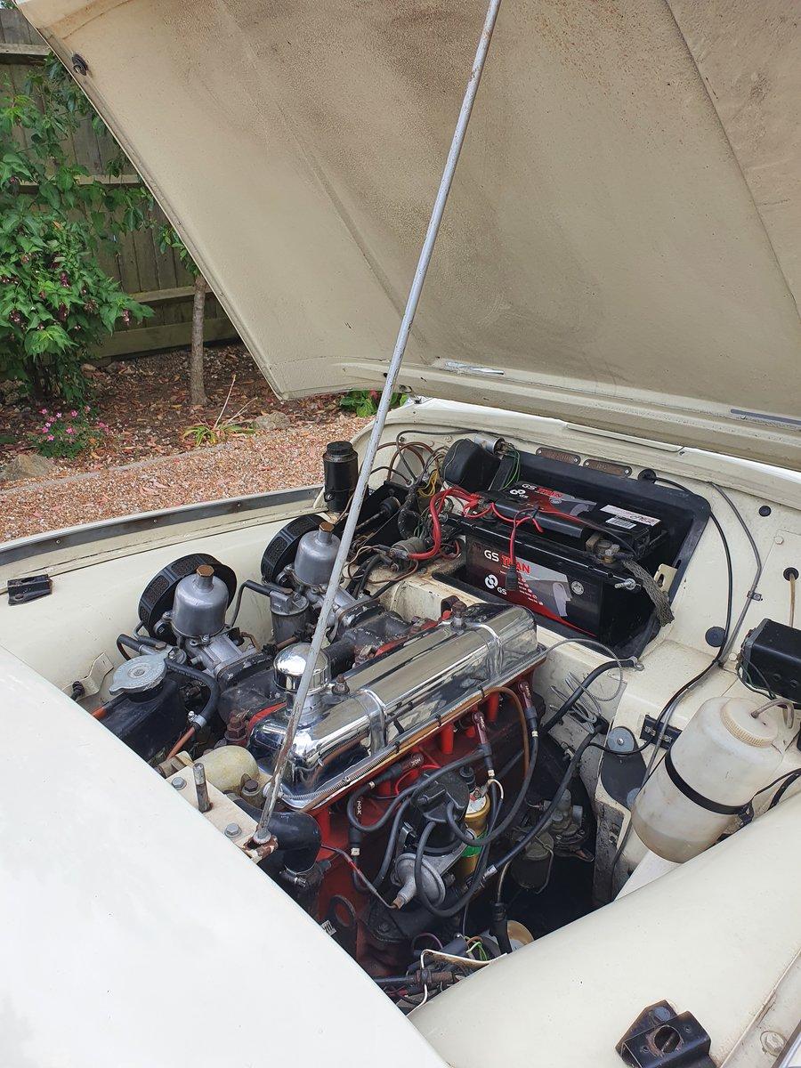 1960 Triumph TR3a SOLD (picture 4 of 6)