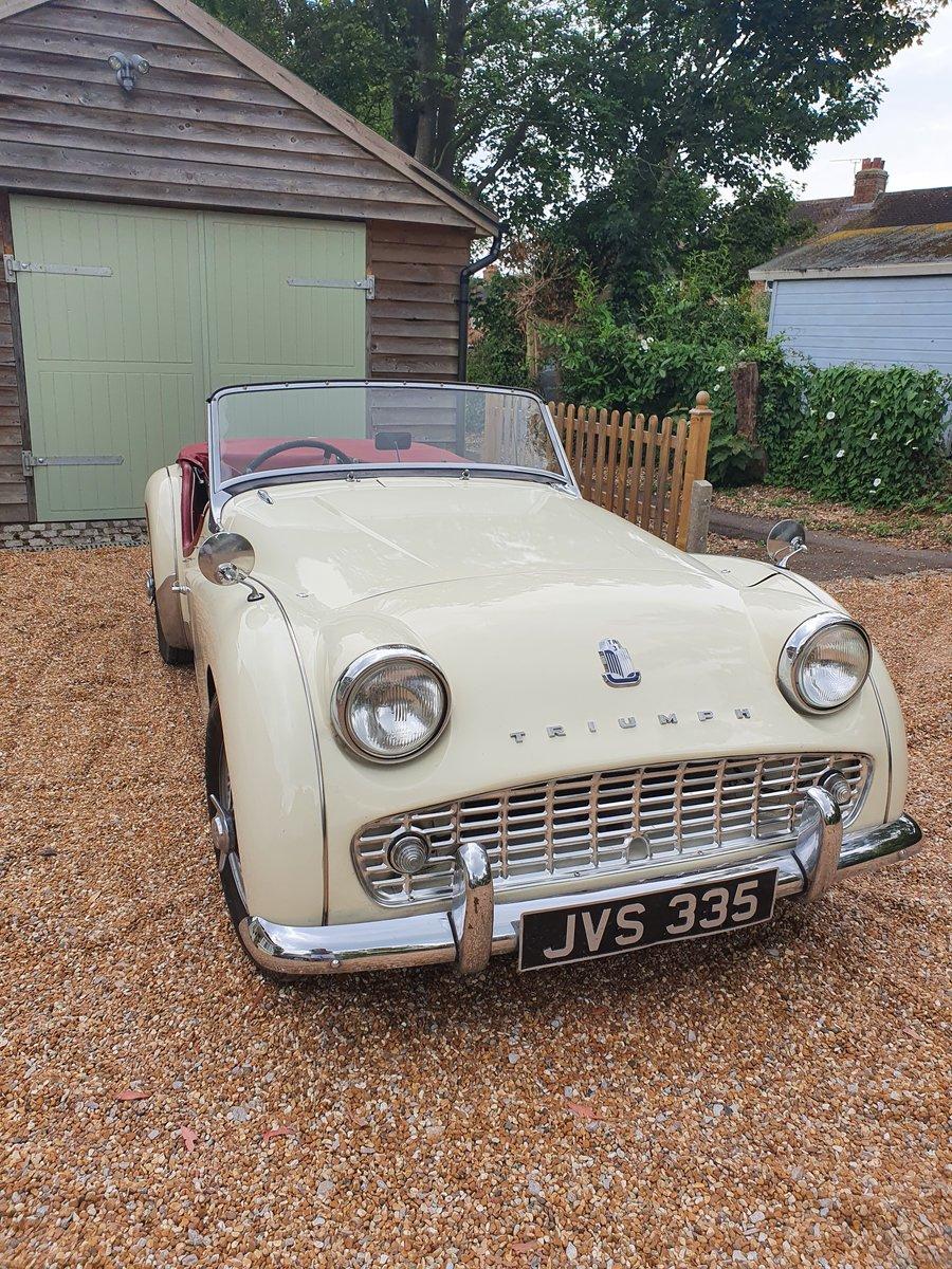 1960 Triumph TR3a SOLD (picture 6 of 6)