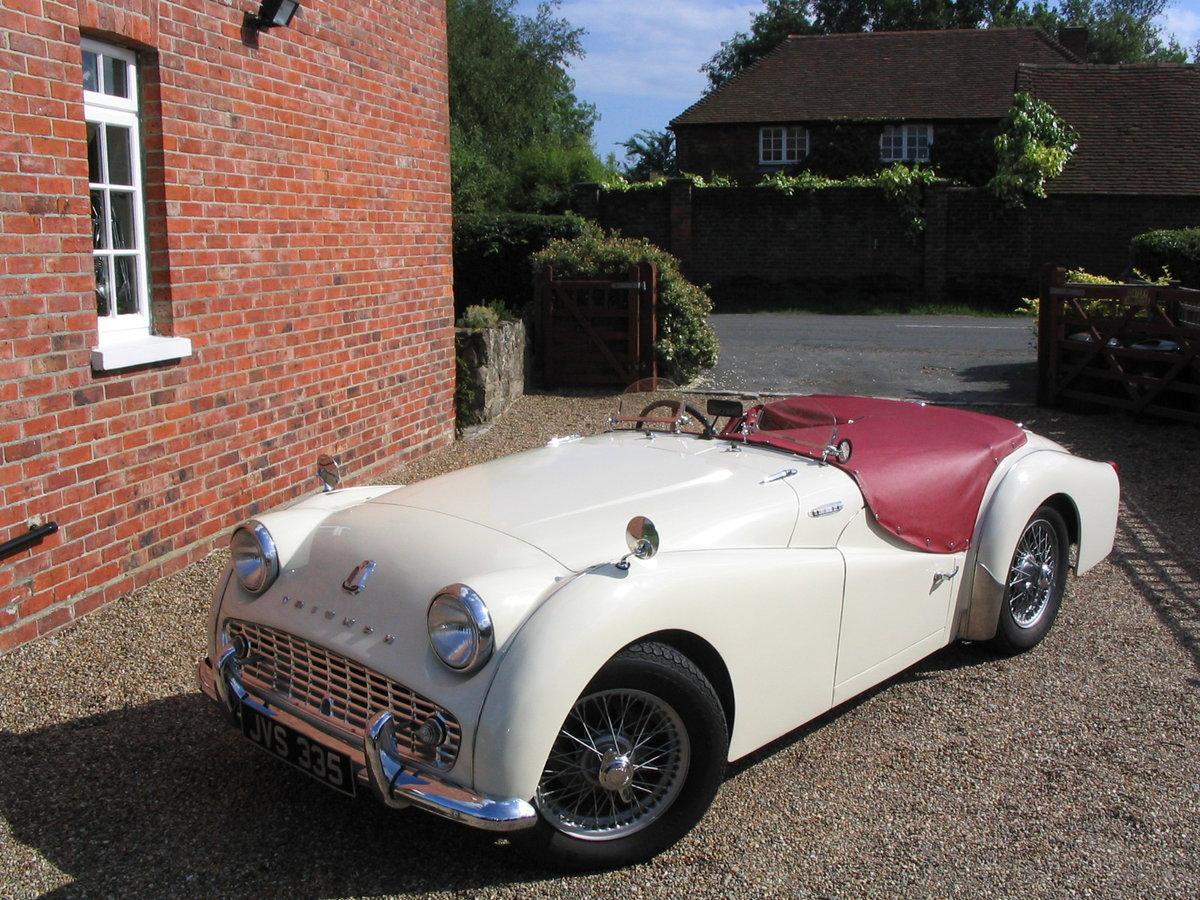1960 Triumph TR3a SOLD (picture 5 of 6)