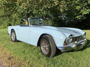 TR4 Original UK RHD