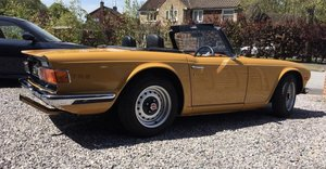 1971 Triumph TR6 150bhp CP injection