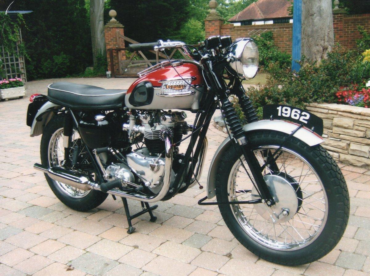 Triumph Bonnevile 1962 For Sale (picture 1 of 1)
