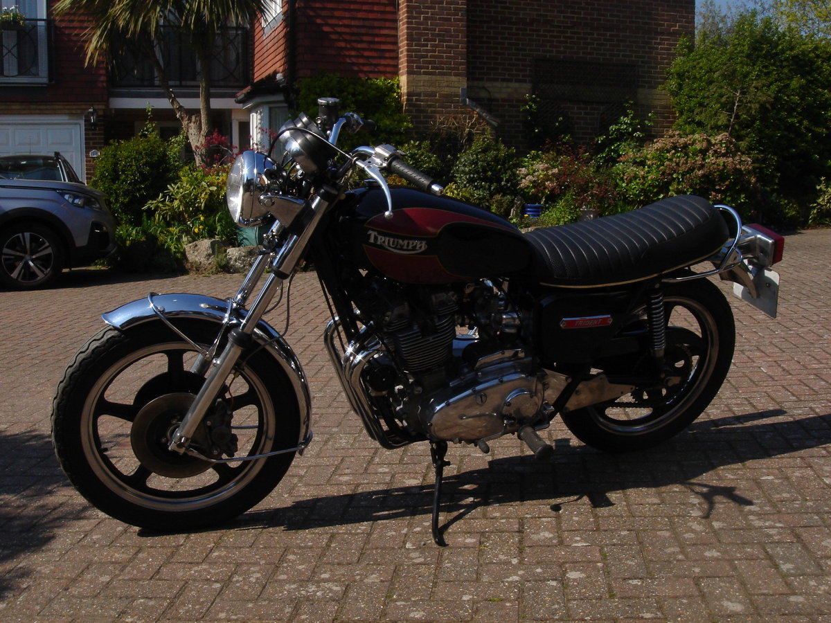 1975 Triumph T160  For Sale (picture 2 of 6)