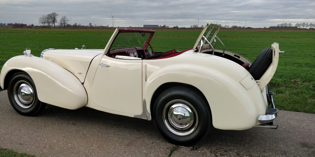 1948 Triumph Roadster'48  For Sale (picture 2 of 6)