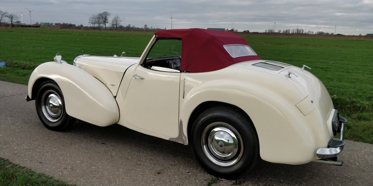 1948 Triumph Roadster'48  For Sale (picture 3 of 6)