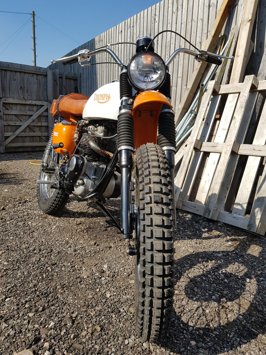1966 Triumph Tiger T100C (Competition) For Sale (picture 1 of 6)