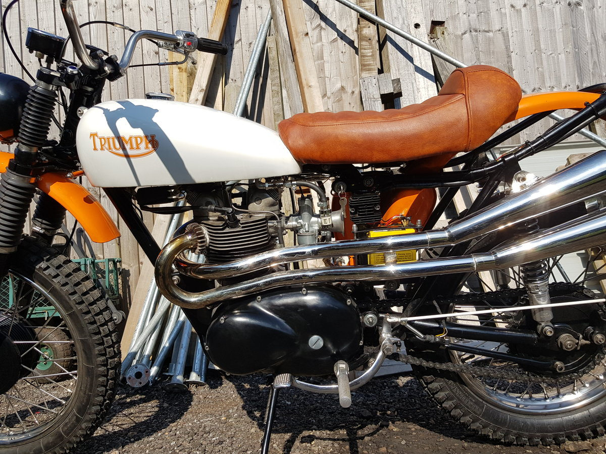 1966 Triumph Tiger T100C (Competition) For Sale (picture 3 of 6)