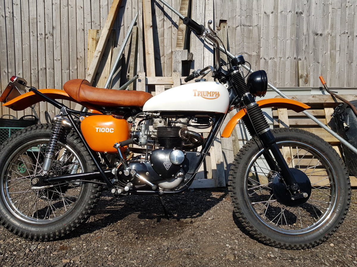 1966 Triumph Tiger T100C (Competition) For Sale (picture 4 of 6)