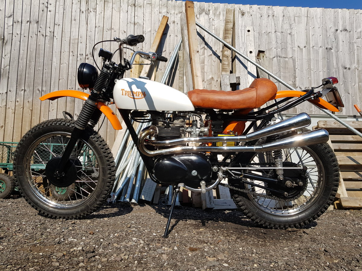 1966 Triumph Tiger T100C (Competition) For Sale (picture 2 of 6)