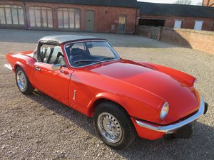 TRIUMPH SPITFIRE  1500 - 1981 63K MILES FROM NEW For Sale