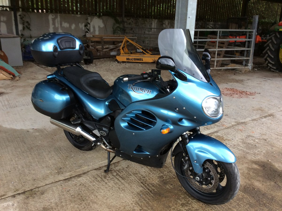 2002 Triumph Trophy 1200 T312 only 19,000 miles For Sale (picture 1 of 6)