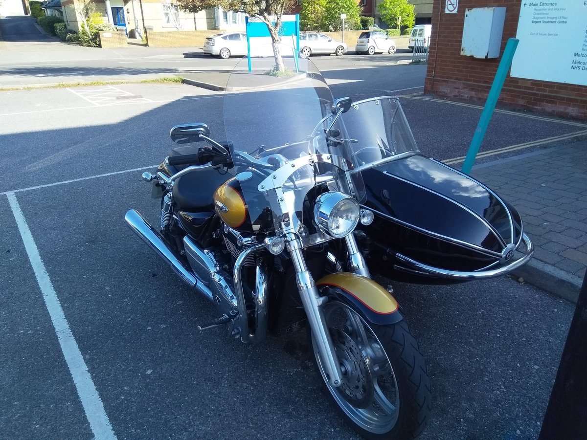 2013 Triumph Thunderbird with Watsonian GP700 sidecar For Sale (picture 3 of 4)