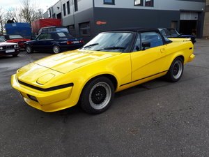 Picture of 1980 Triumph TR7 4.6 V8 Yellow convertible For Sale