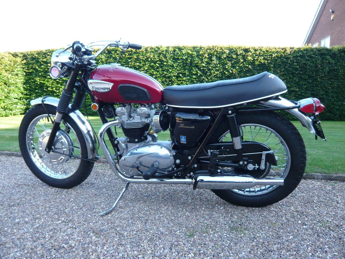 1968 Triumph Bonneville T120R USA Specification For Sale (picture 3 of 6)