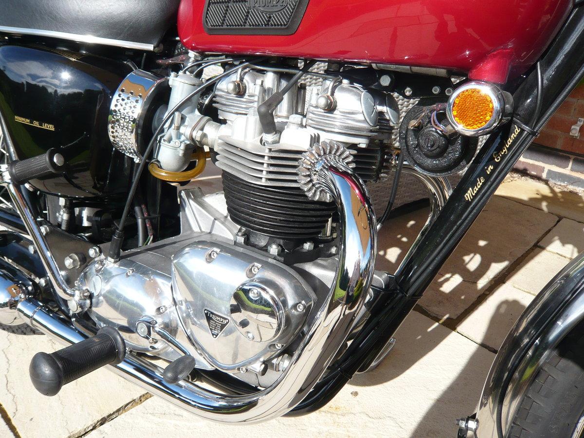 1968 Triumph Bonneville T120R USA Specification For Sale (picture 4 of 6)