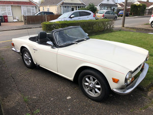 TR6 with just 76000 mikes on clock
