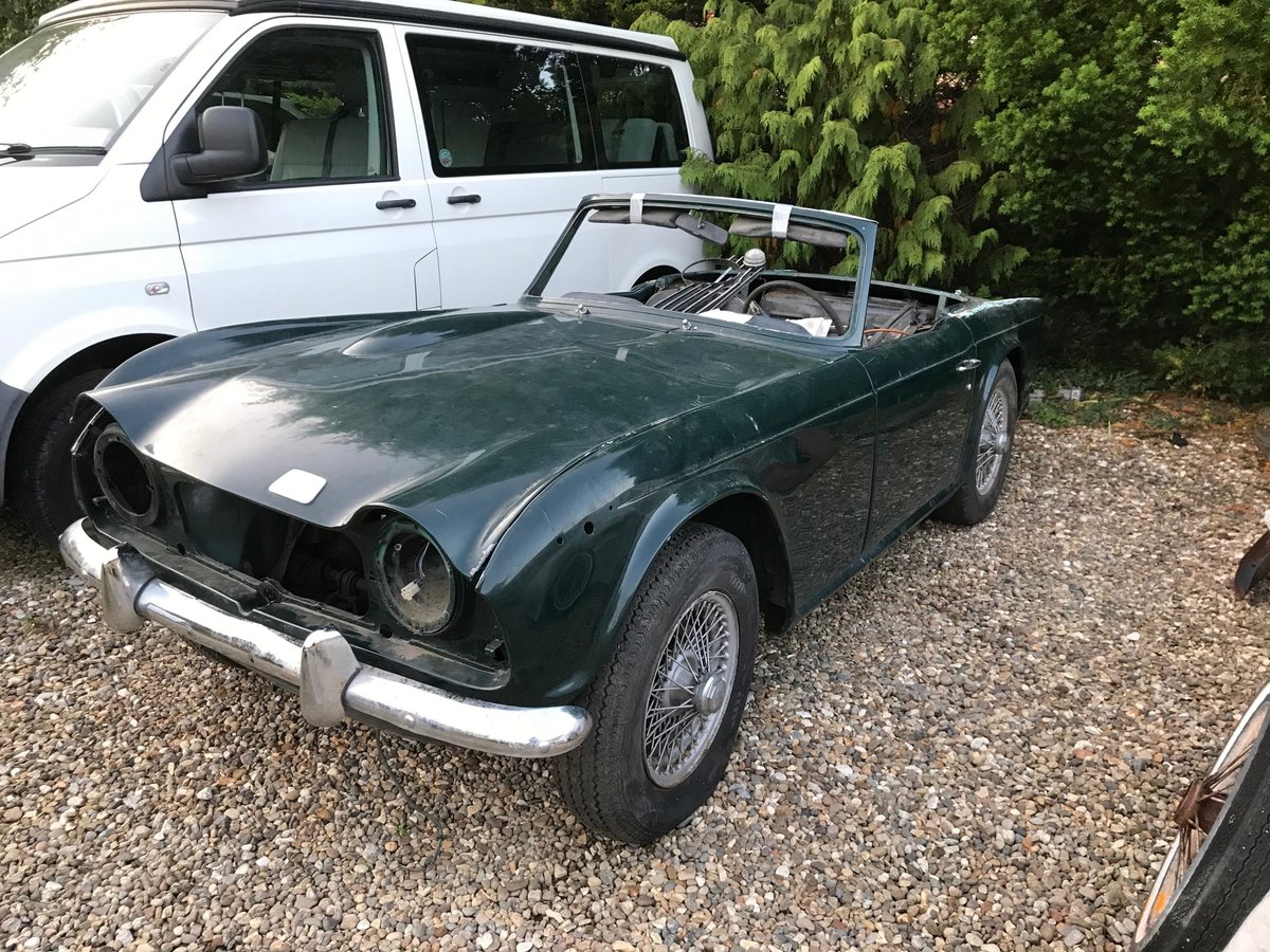 1968 Triumph TR250 Project For Sale (picture 2 of 5)