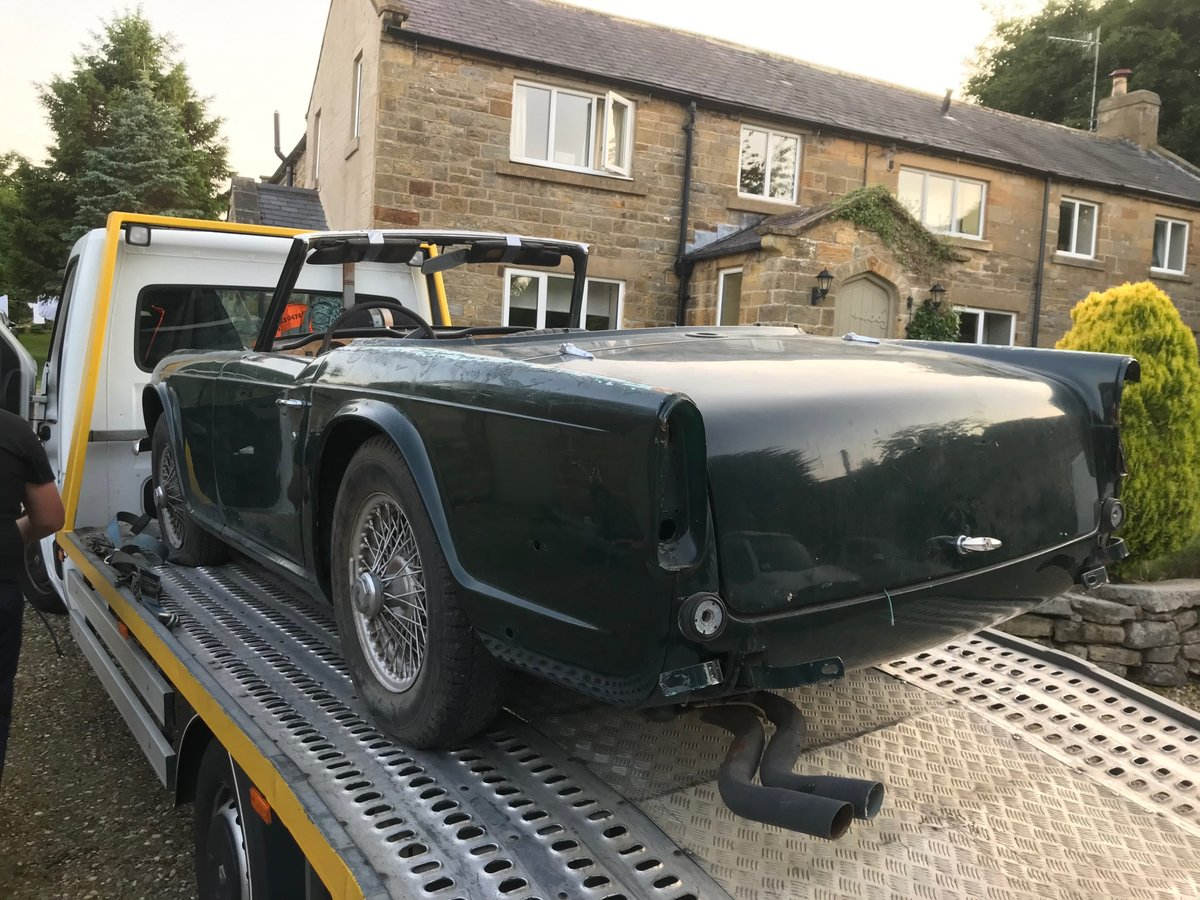 1968 Triumph TR250 Project For Sale (picture 3 of 5)
