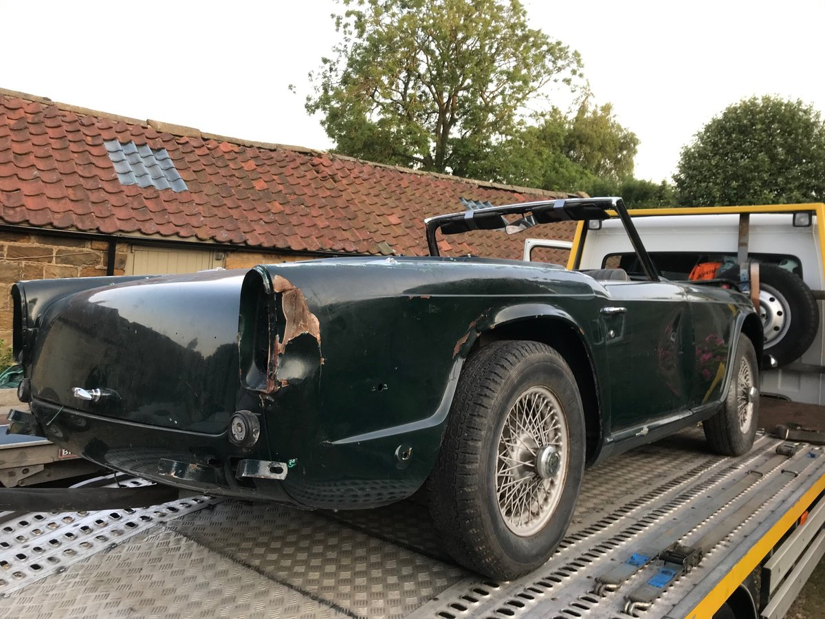 1968 Triumph TR250 Project For Sale (picture 4 of 5)