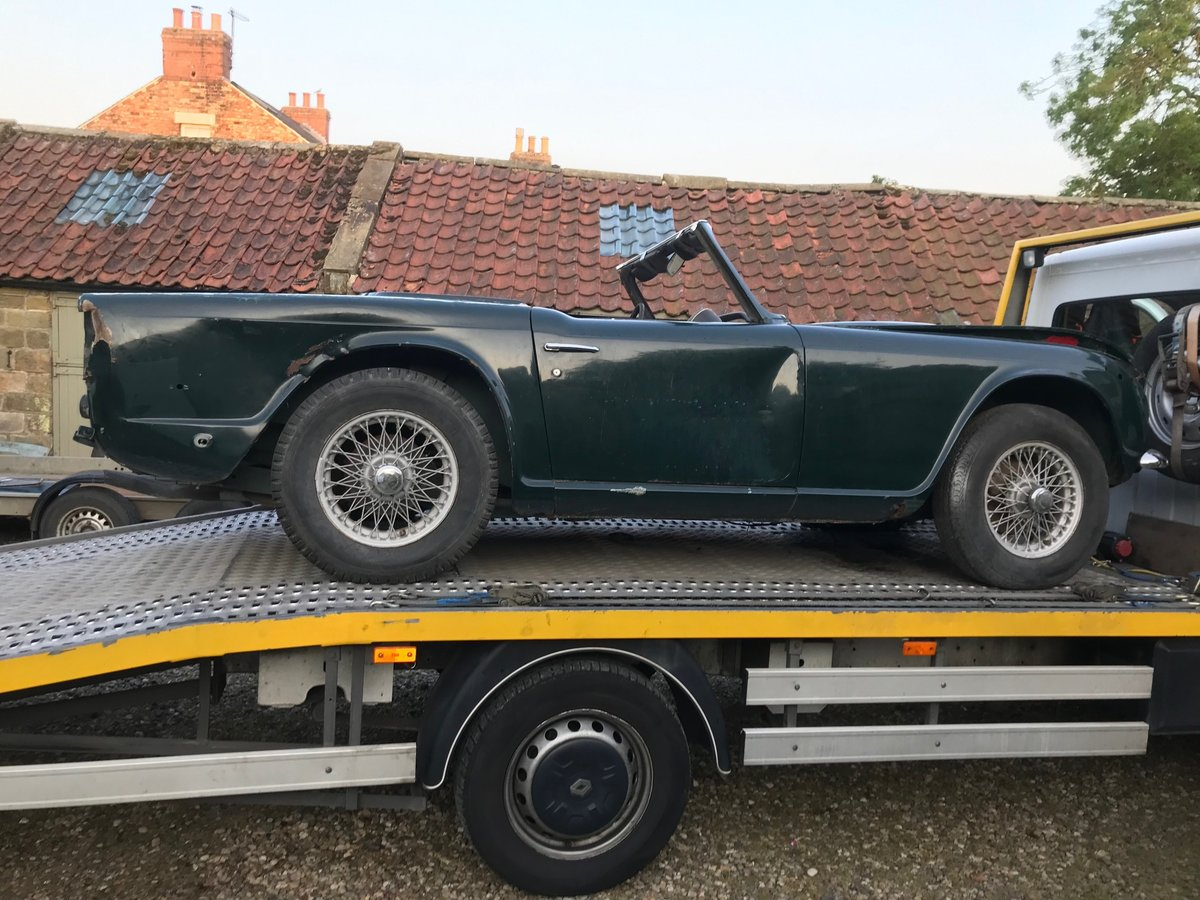 1968 Triumph TR250 Project For Sale (picture 5 of 5)