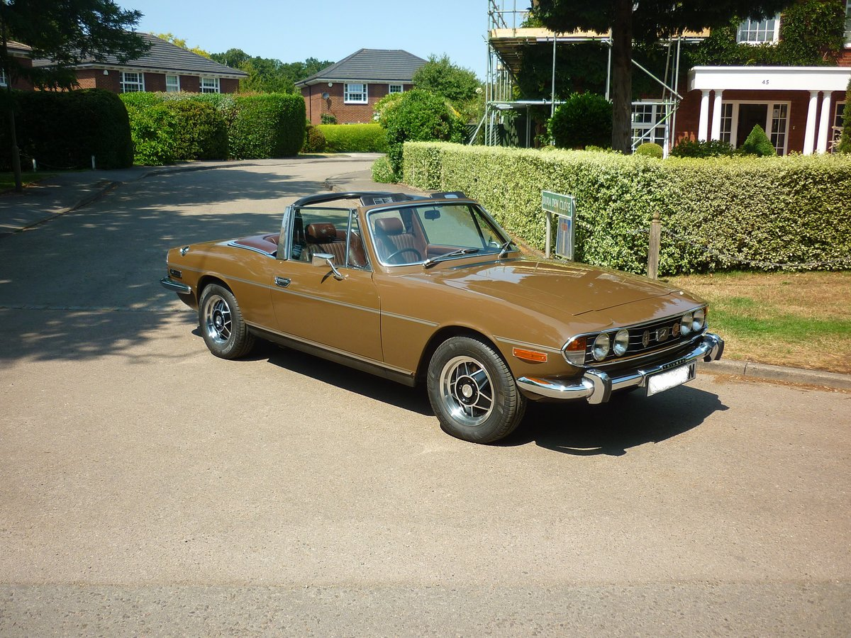 1975 Triumph Stag Automatic For Sale (picture 1 of 6)