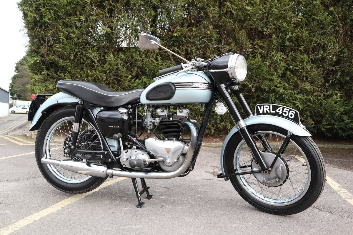 1955 Triumph T110 650cc Pre Unit For Sale (picture 1 of 6)