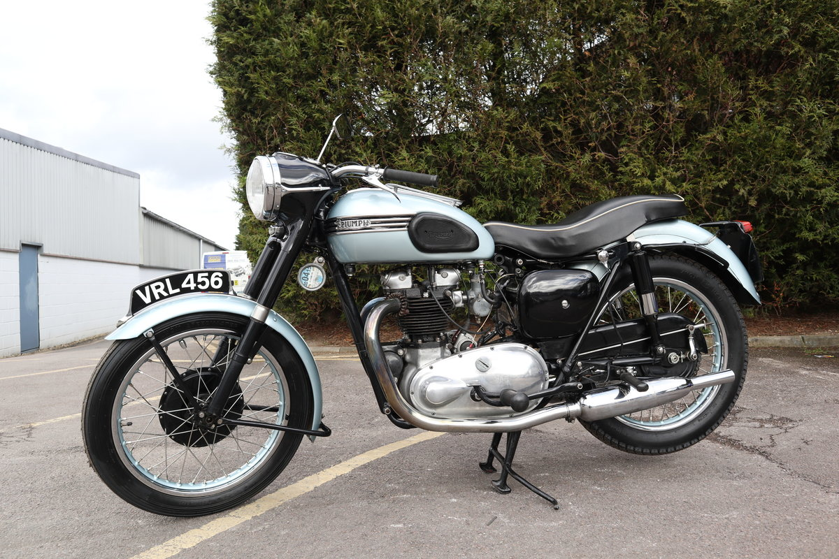 1955 Triumph T110 650cc Pre Unit For Sale (picture 2 of 6)