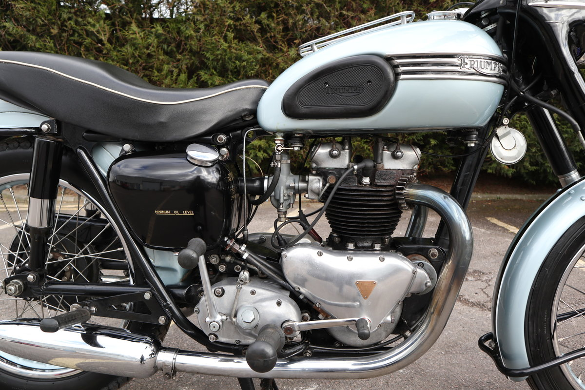 1955 Triumph T110 650cc Pre Unit For Sale (picture 3 of 6)