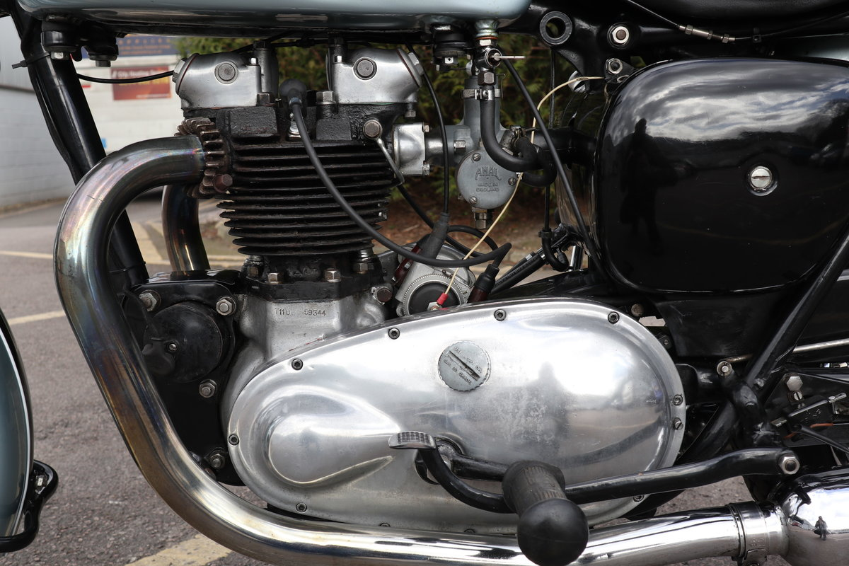 1955 Triumph T110 650cc Pre Unit For Sale (picture 4 of 6)