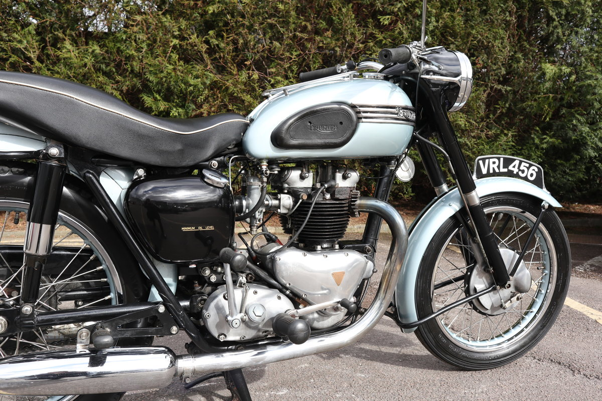 1955 Triumph T110 650cc Pre Unit For Sale (picture 5 of 6)