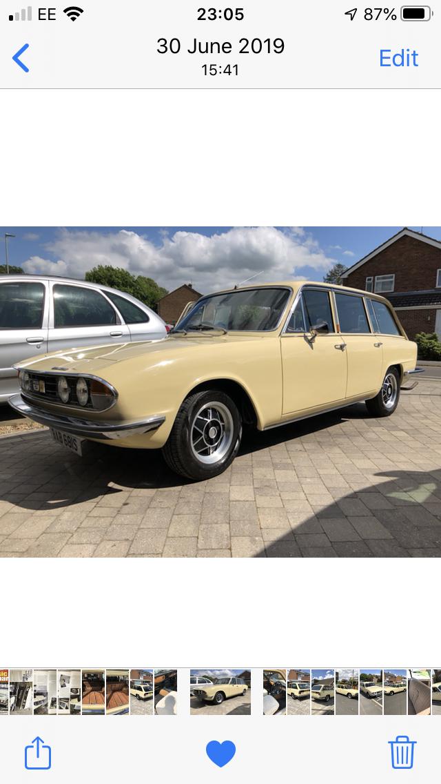 1977 Triumph 2500s Estate SOLD (picture 3 of 6)