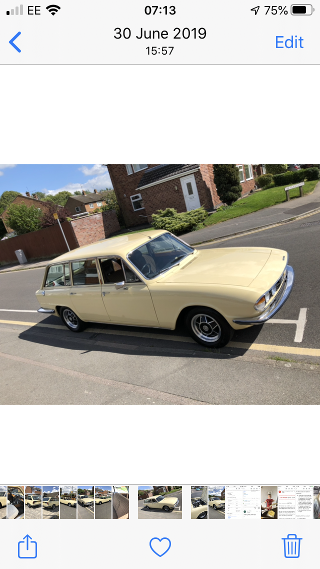 1977 Triumph 2500s Estate SOLD (picture 5 of 6)