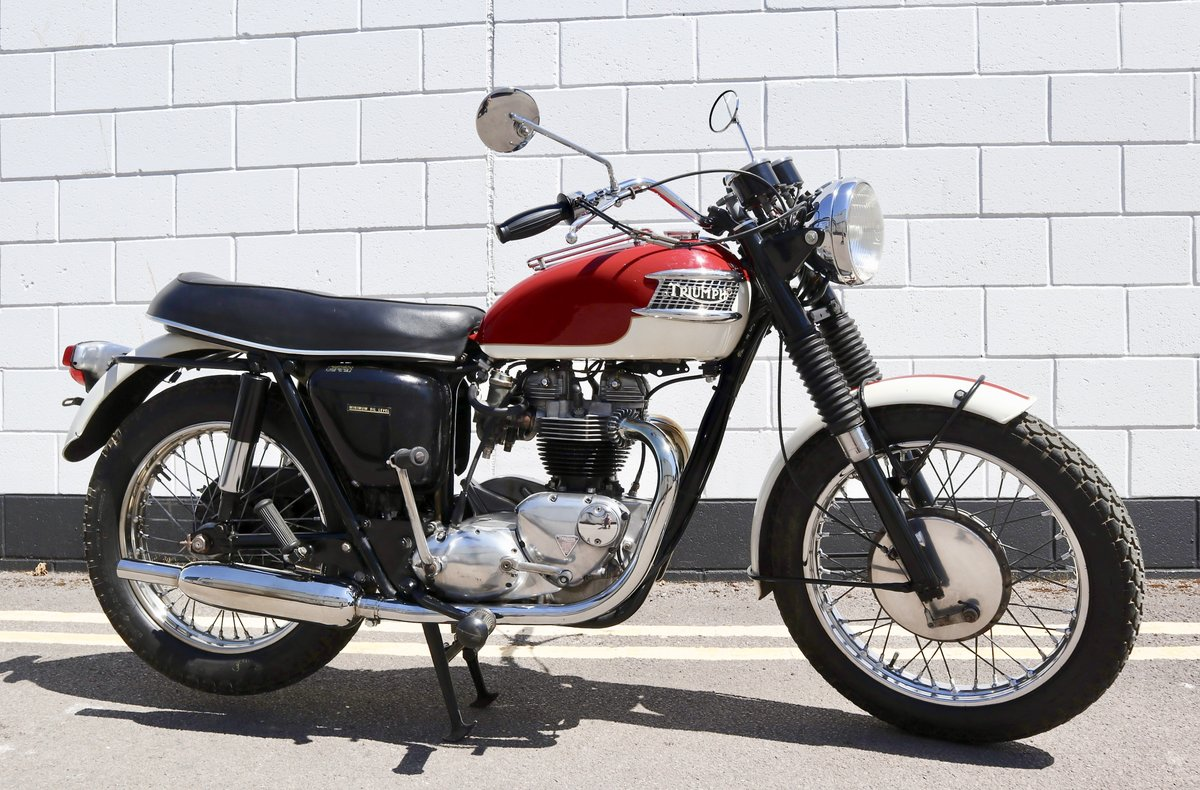 1967 Triumph T120R Bonneville 650cc For Sale (picture 1 of 6)