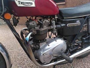 Triumph Bonneville 750 MOT'd