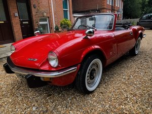 1972 Triumph Spitfire Mk IV with Overdrive