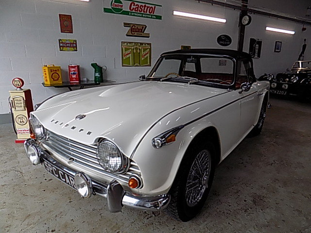 Triumph TR4A Overdrive car 1966  DEPOSIT TAKEN SOLD (picture 1 of 6)