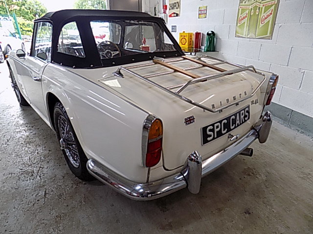 Triumph TR4A Overdrive car 1966  DEPOSIT TAKEN SOLD (picture 3 of 6)