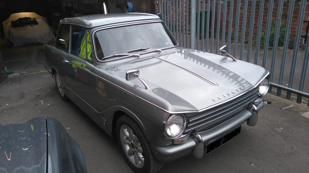 1970 triumph herald. tastefully modified For Sale (picture 2 of 6)