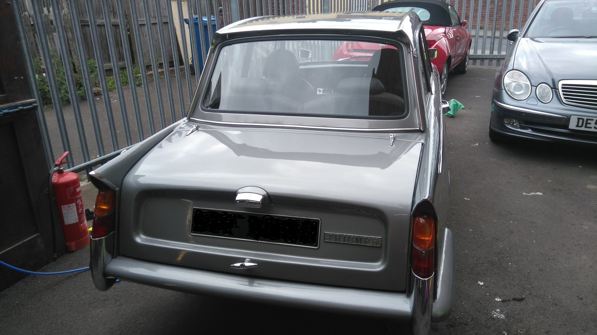1970 triumph herald. tastefully modified For Sale (picture 3 of 6)