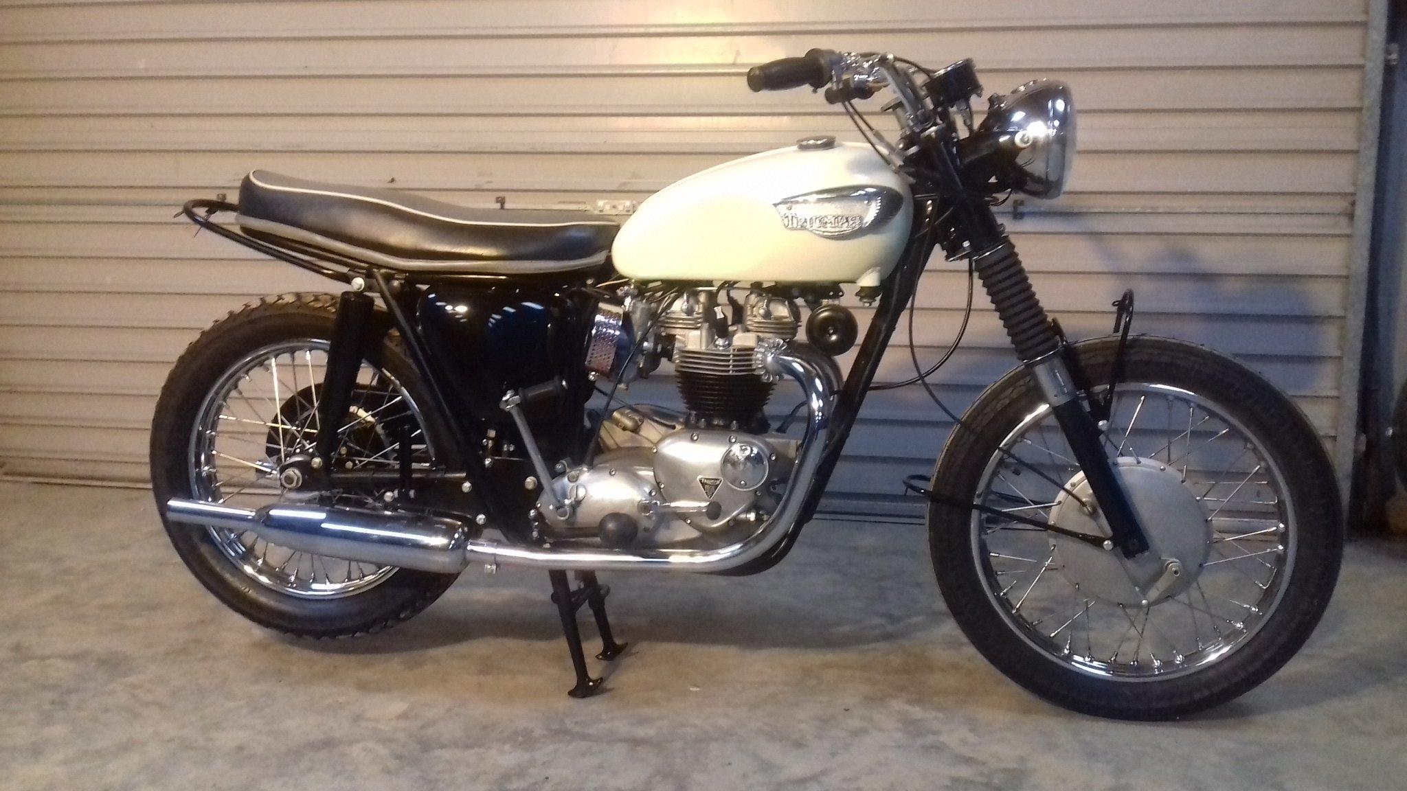 1967 Triumph Bonneville T120R For Sale (picture 1 of 6)