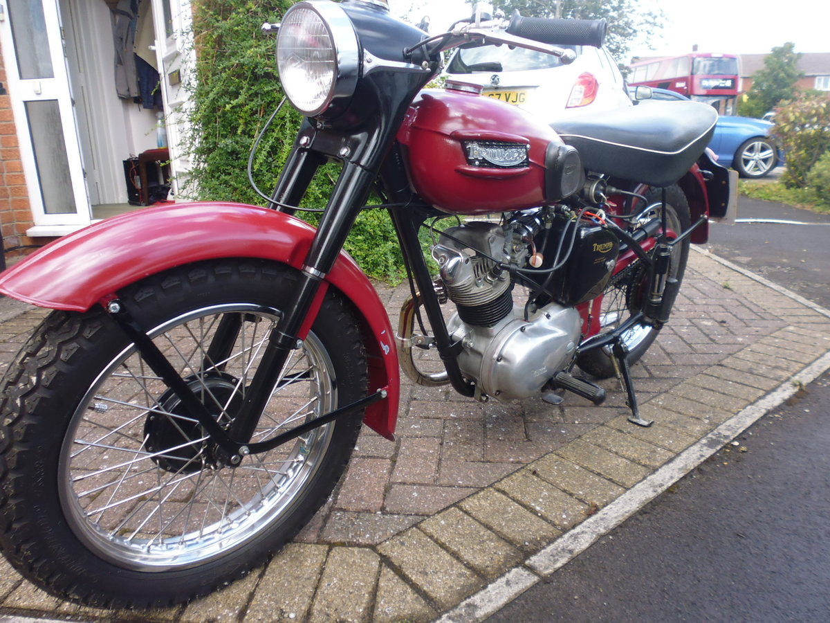 1956 Triumph Tiger Cub plunger For Sale (picture 5 of 6)