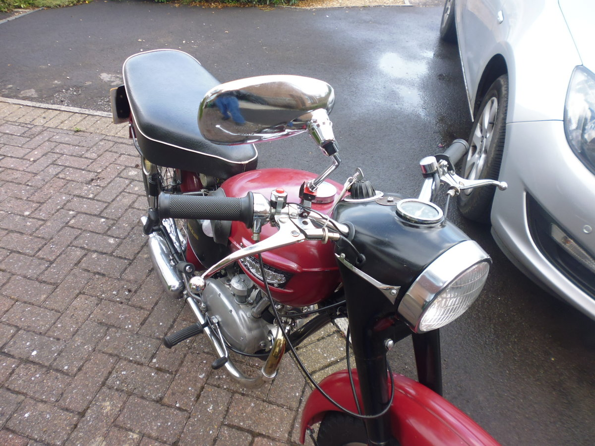 1956 Triumph Tiger Cub plunger For Sale (picture 6 of 6)