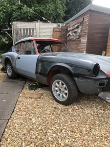 1972 Triumph gt6 part restored