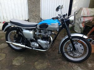 Picture of 1961 T120R Bonneville Pre-unit 650