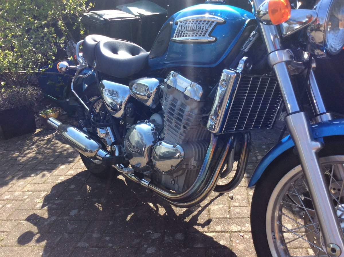 1995 Triumph thunderbird 9000 miles For Sale (picture 4 of 6)