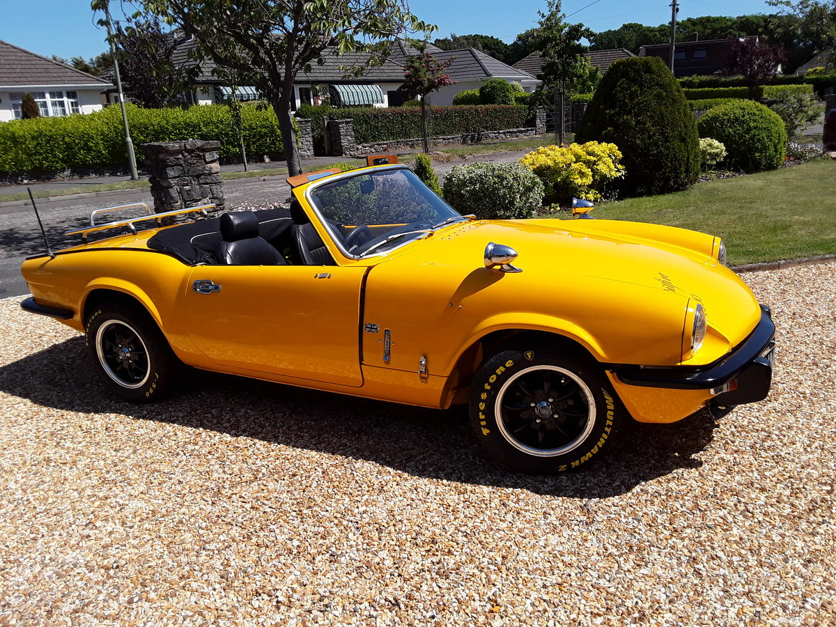1976 Triumph spitfire 1500 with overdrive SOLD (picture 1 of 6)