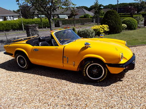1976 Triumph spitfire 1500 with overdrive